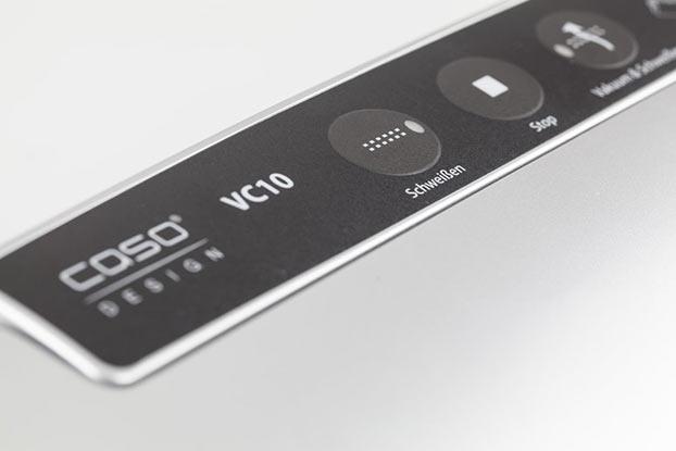 Caso VC10 knoppen