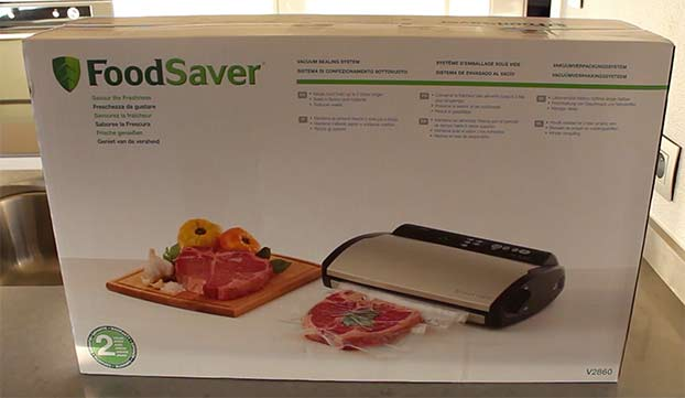 Foodsaver V2860 Review Test