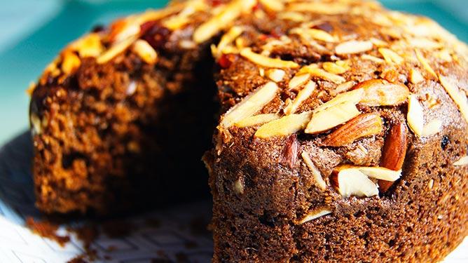sinaas amandel cake