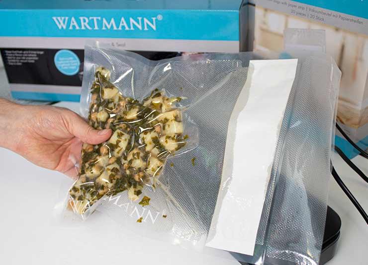 Wartmann vacuumzak