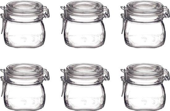 Glazen pot steriliseren