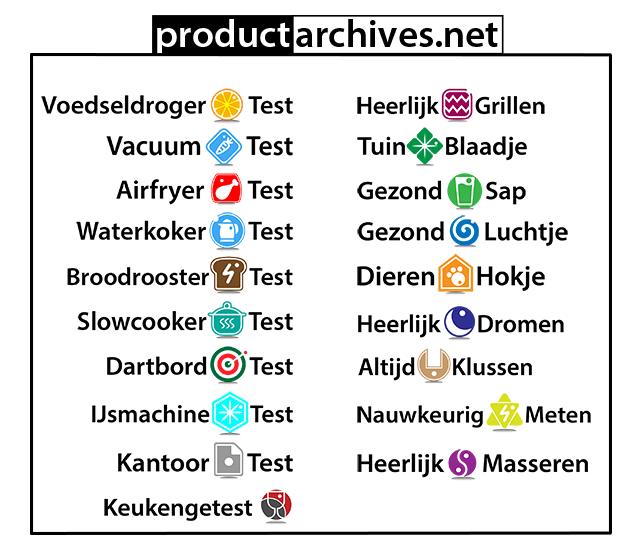 Productarchives vacuumtest