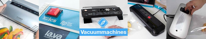 Overzicht vacuummachines